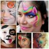 Harlequinn Face Painting