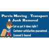 Parris moving transporting & junk removal